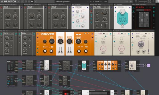 Native Instruments - Reaktor Software Synthesizer