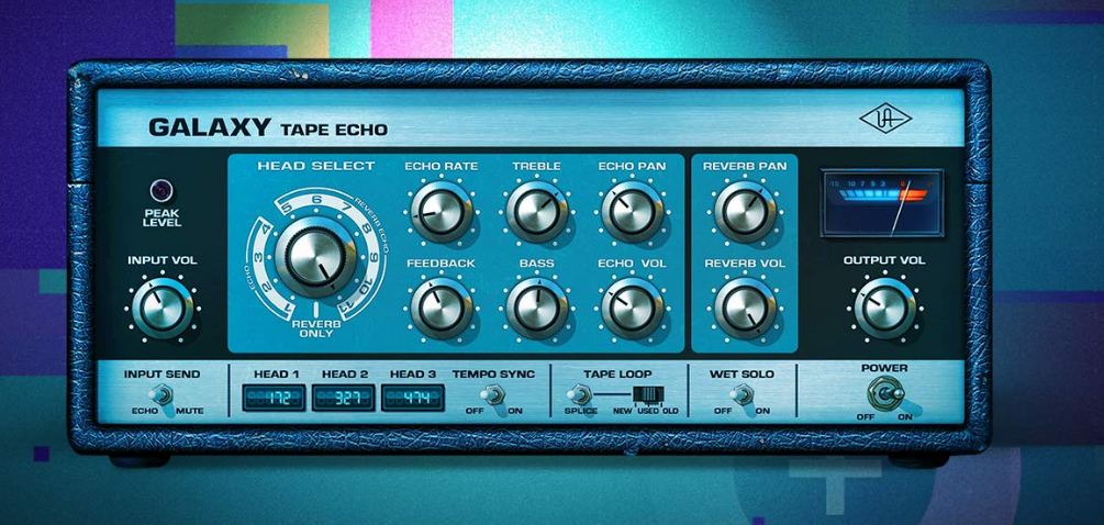 Endless, lush, dub-style delays and psychedelic spring reverb.