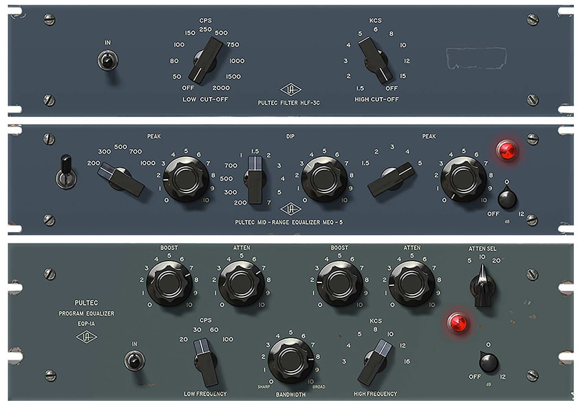 UAD - Pultec Passive EQ Plug-In Collection