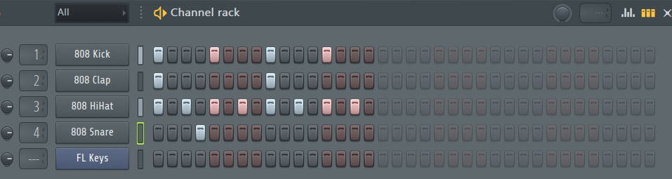 FL Studio's intuitive sequencer