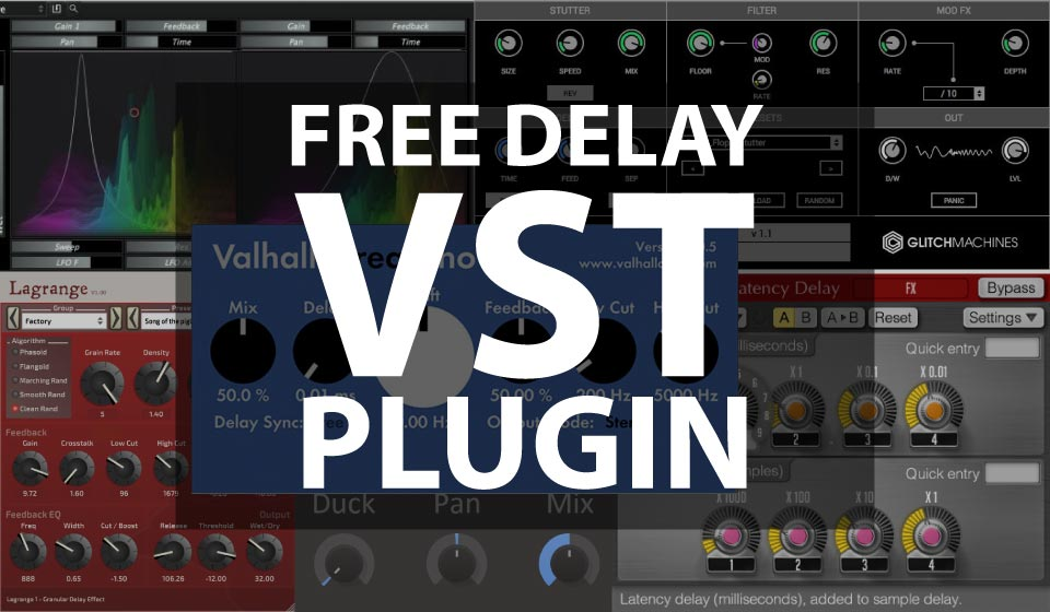 Best Free Delay VST Plugins