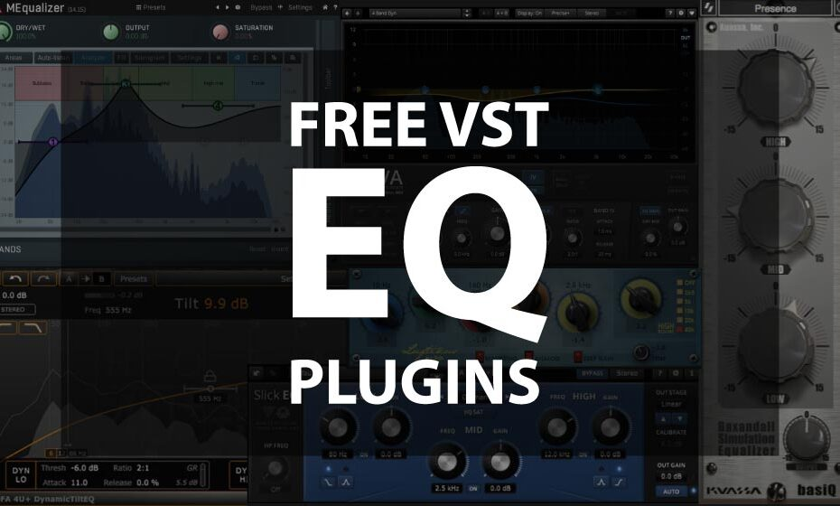 Best Free EQ VST Plugins